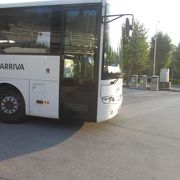 ポストイナ鍾乳洞からリュブリャーナに戻る際にこの会社の路線バスを利用しました