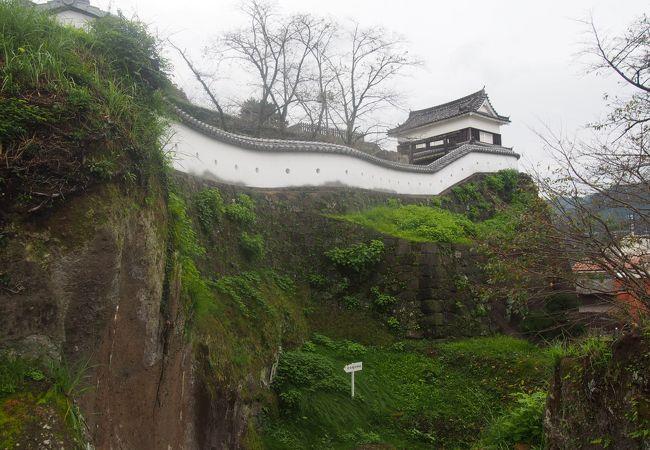 城跡は広い公園となっている