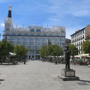 雰囲気の良い広場