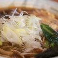 ピリ辛玉子とじ麺と半チャーハン