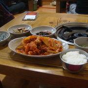 キムチと豚肉の煮込み、キムチチム。