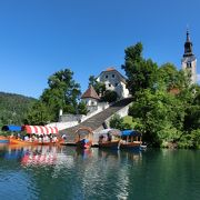 スロベニアで唯一の島