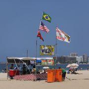 リオデジャネイロのビーチと言えば…