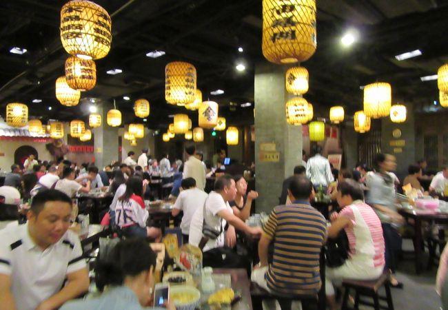 南京の庶民的なレストラン