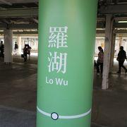 香港東鐡線の終点