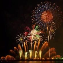 141018ふじさわ江の島花火大会