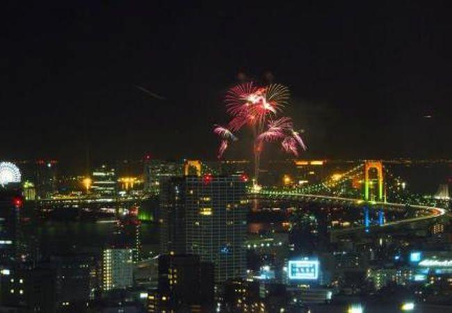 冬花火は大東京とは言え穴場です