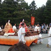 2016年の時代祭~京都御所・平安神宮ともに多くの観覧者がいます~