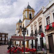 街一番の大きな広場
