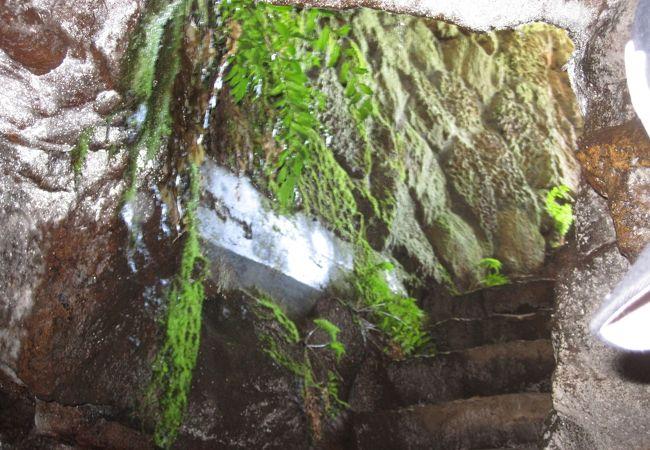 大根島第二溶岩隧道 (竜渓洞)