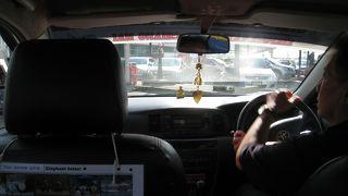 空港からチェンマイ市内まで利用