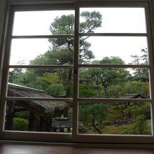 日本庭園を眺めながら洋館でティータイム