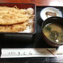 深海魚メヒカリ天丼