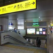 京急蒲田駅直結の商業施設です。