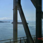 瀬戸大橋線で瀬戸大橋を渡りました