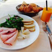 優雅な朝食タイム
