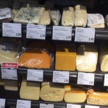 チーズは日本で買うよりかなり安いと思いました。