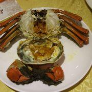 目玉は上海蟹ですが