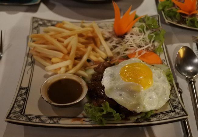 雰囲気の良いカンボジアンレストラン
