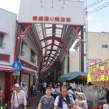瀬戸駅側から深川神社の方につながります