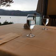 芦ノ湖が見える最高のロケーション