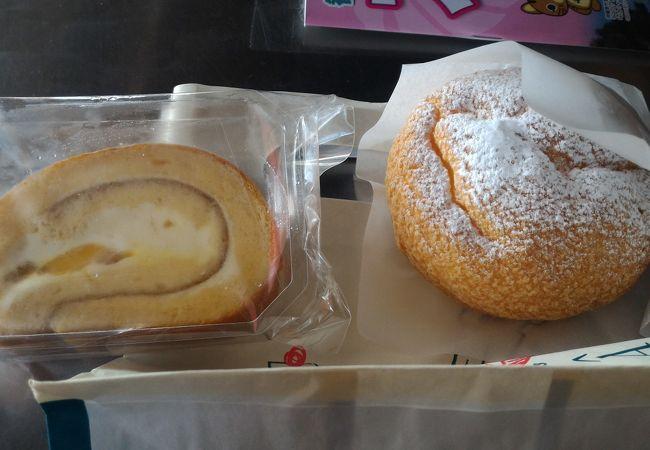 マンゴのロールケーキが絶品!