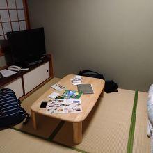 和室6畳でした。