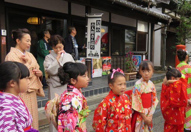 小江戸野州栃木お蔵のお人形さん巡り