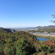 展望台から見た木曽川