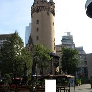 中世の城壁の一部