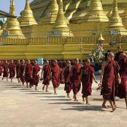 ミャンマーで一番高い仏塔