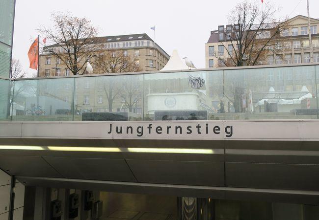 ユングフェルンシュティーク駅
