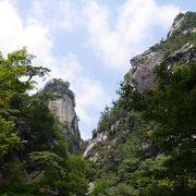 昇仙峡のシンボル的景観です