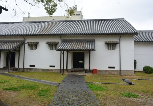 会所の施設がそのまま残る重要文化財