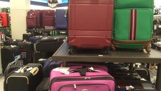 おみやげ増えたらスーツケースを調達