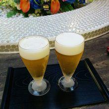 キリン一番搾り 生ビールです。風呂あがりは、最高です。