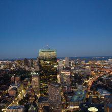 ボストンで唯一の展望台