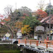 長門湯本温泉と音信川の散歩