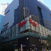 Pitt Street 沿いのオシャレなショッピングモール