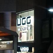 UGGのブーツやシューズがたくさん!