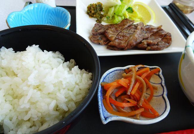 福島や宮城の食事ができます
