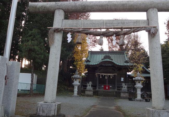 西大竹 嶽神社