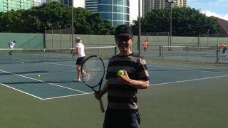 アラモアナ テニスコート