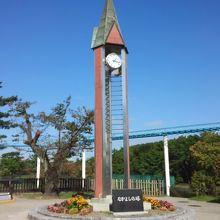 シンボルの時計台