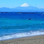 03 葉山しおさい公園(一色海岸)から見る富士山! ☆☆☆☆