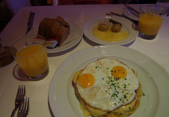 スイスの郷土料理を食べられる美味しいレストランです