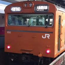 大阪環状線の103系、いずれなくなることでしょう。