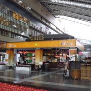 JR大阪駅上