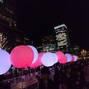 今年は50m 東京駅は特別ライトアップなし