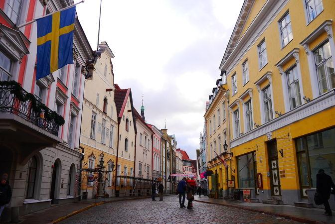 タリン歴史地区(旧市街)
